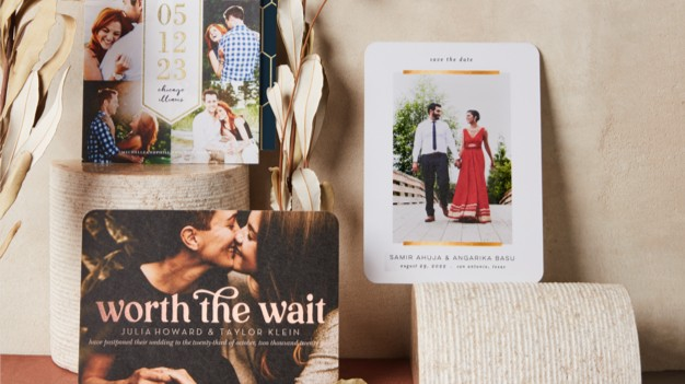 SHOP SAVE THE DATES - Announce your special date with modern themes that capture your couple style.