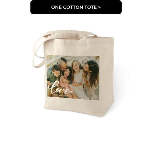 One Cotton Tote