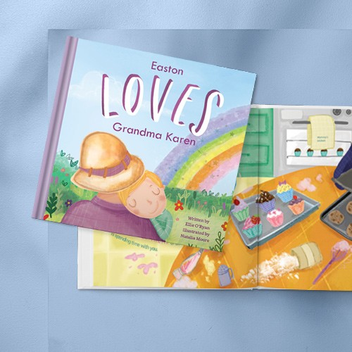 Personalized kids books for grandparents
