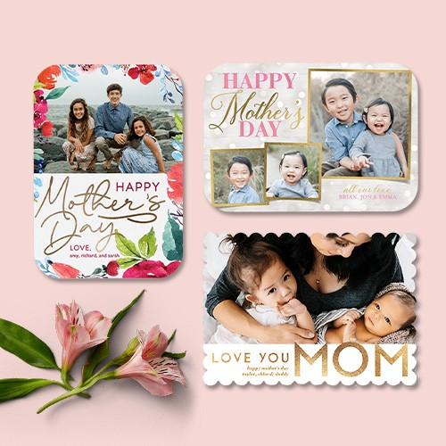 Personalized mothers day cards photos happy mothers day messages