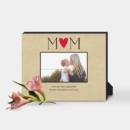 Personalized picture frame for mom with photo