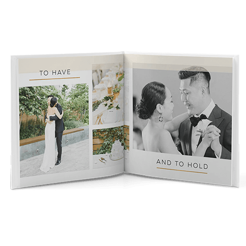 elegant wedding photo albums to classic photo books with custom wedding photos