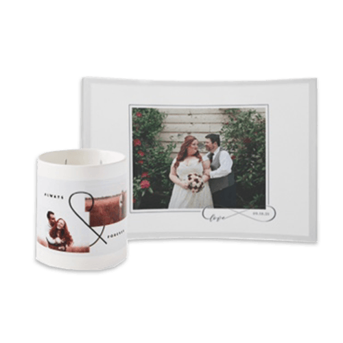 personalized wedding day stationery and home decor