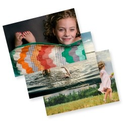 Photo prints of stored photos on Shutterfly's photo storage service