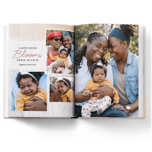 Custom photo photo books are perfect gifts for storing your favorite shared memories.