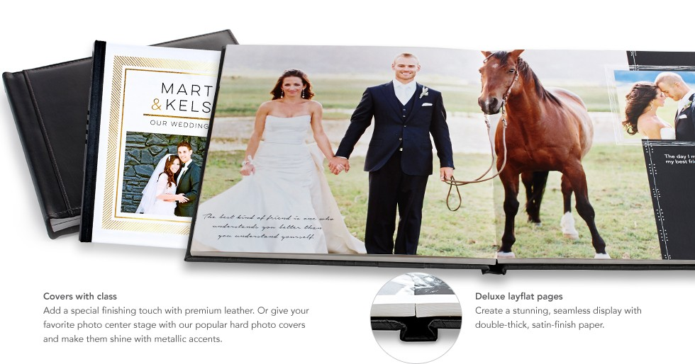 Personalize Your Photo Book With A Range Of Styles And Custom Features Learn More About Covers Options