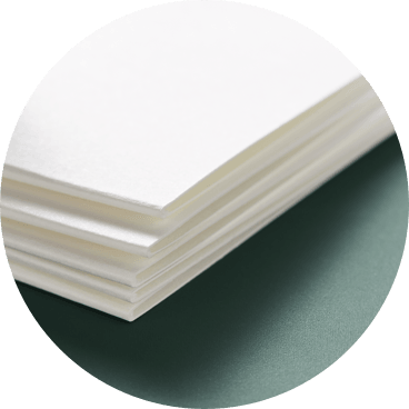 Folded Smooth Cardstock for Gatefold and Trifold Cards