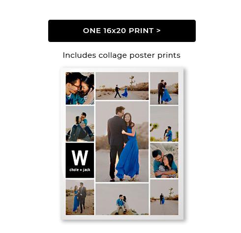 One 16 X 20 Print