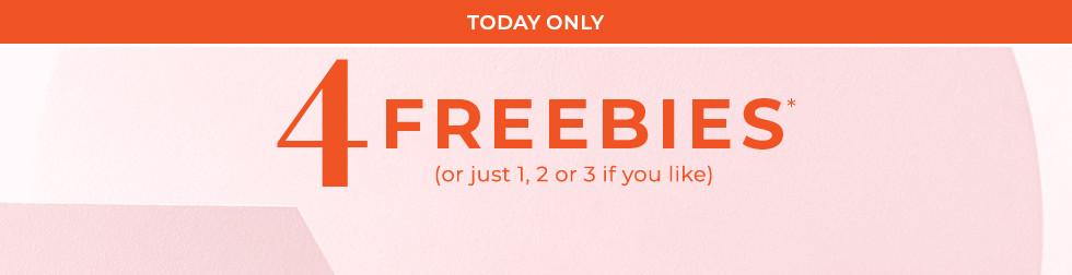 Get 4 Freebies