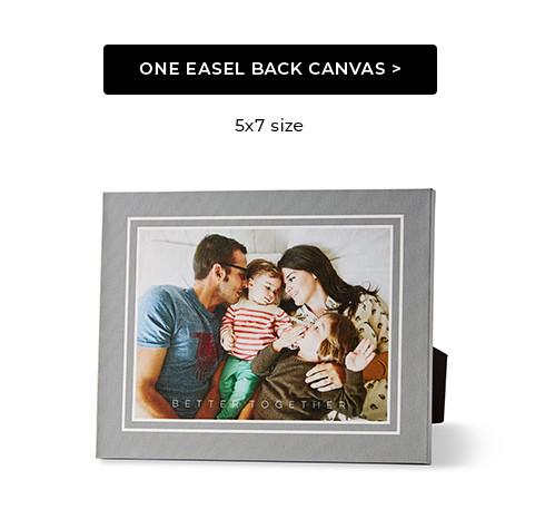 Easel Back Canvas