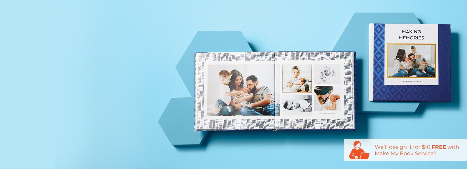 custom baby photo books