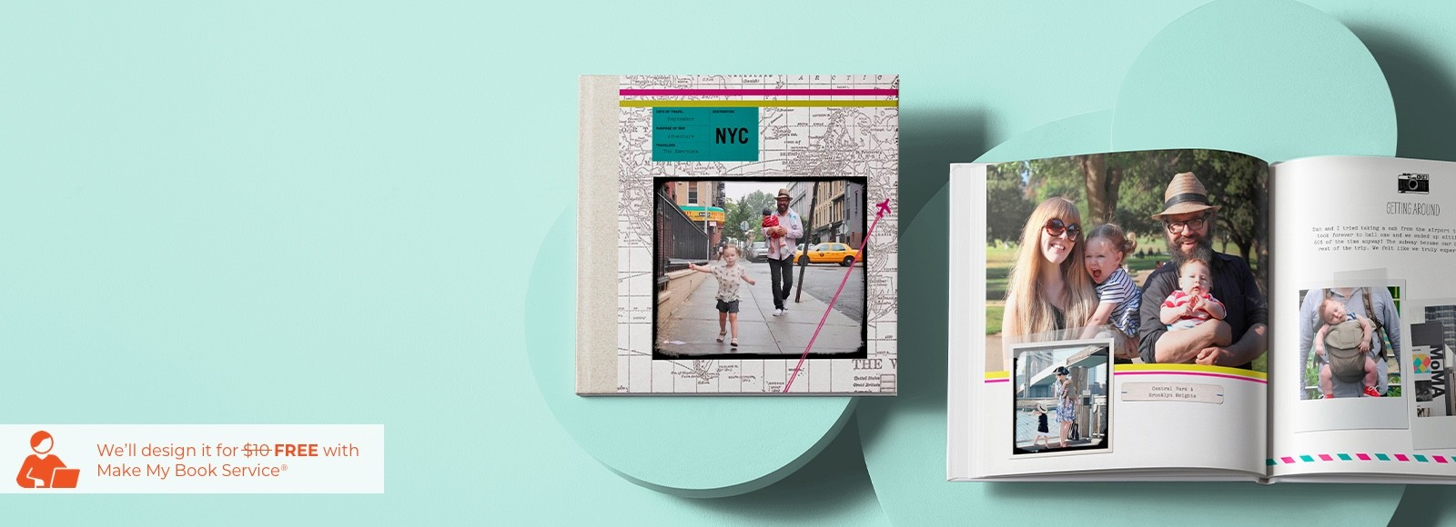 custom travel photo books