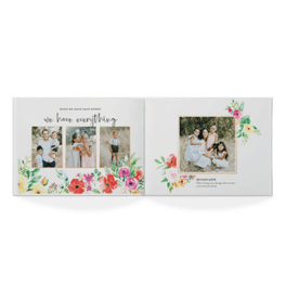 colorful blooms photo book