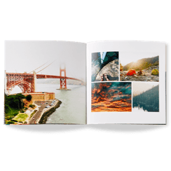 modern travel photo book