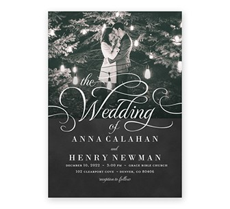 Custom wedding cards for wedding invitations, save the date cards, and wedding announcements