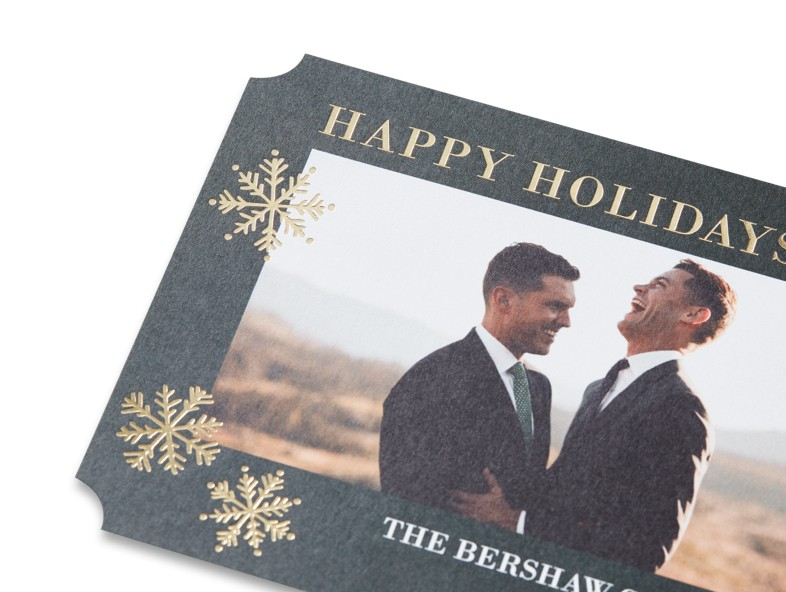 Treat your cards to sturdy cardstock for a luxurious feel