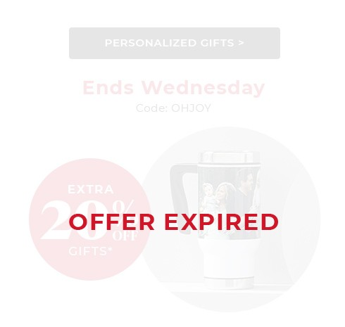Extra 20% off* gifts