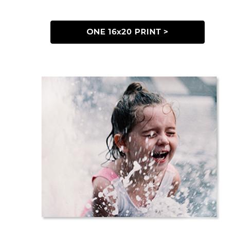 One 16x20 Print