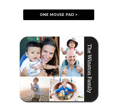 One Mouse Pad