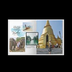 travel adventures photo book