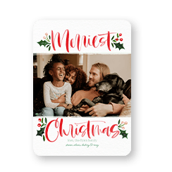 Shutterfly Christmas cards bring holiday cheer to the whole family.
