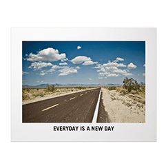 Gallery of one premium poster with highway photo