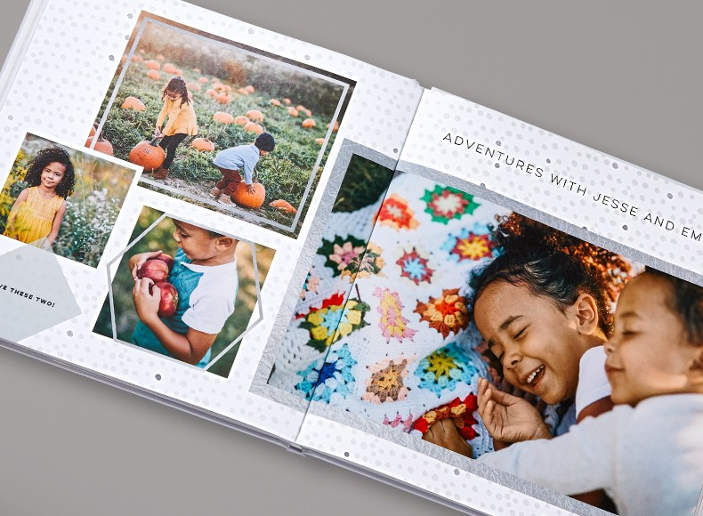 Photo books with high quality printed photos on each page