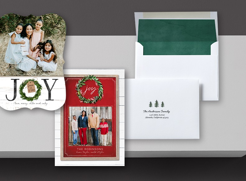 Break away from the ordinary with Shutterfly's unique business holiday cards.