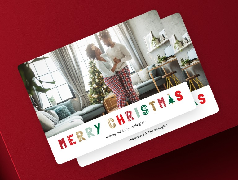 Make holiday cards in minutes