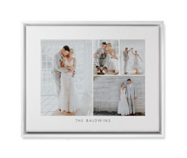 make your own custom wedding canvas prints with picture collages