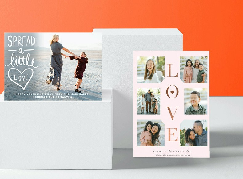 Custom Valentine's Day Cards send the right message to your loved ones.