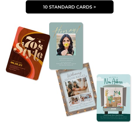 10 Standard Cards