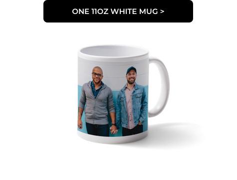 One 11oz White Mug