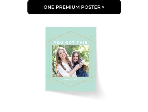 One Premium Poster