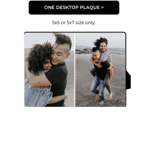One Desktop Plaque