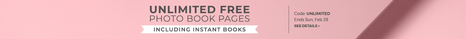 Unlimited free pages, including instant books, code: UNLIMITED, ends Sun, Feb 28