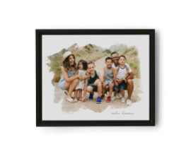 Framed prints of you and dad make the best Father's Day gifts.