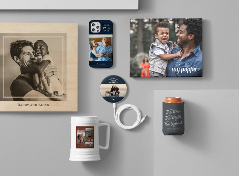 Happy Father's Day brothers edition in the form of custom Father's Day gifts.