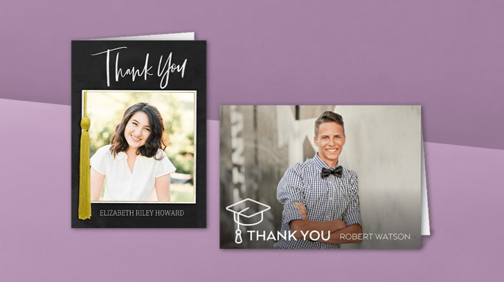 Collegiate Thank You Cards