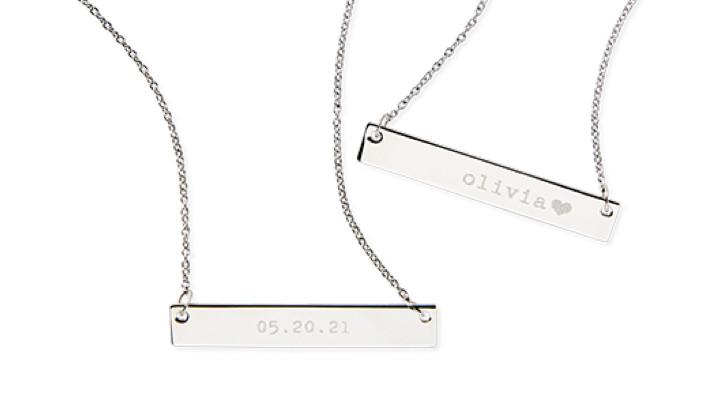 Engraved Graduation Jewelry