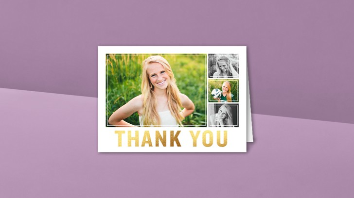 Multi-Photo Thank You Cards