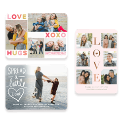 Shop personalized Valentine's Day cards for him, her, and everyone else on your list.