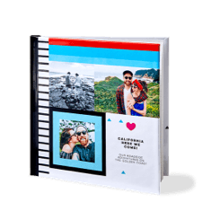 Custom photo books for Valentine's Day make great Valentine's gift ideas.