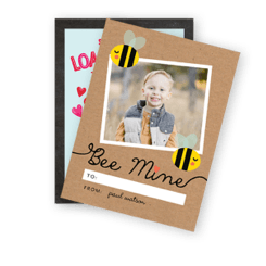 Valentine's Day Cards for him, her, and kids can be found here.