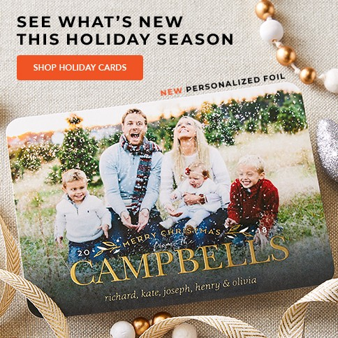 Greeting cards personalized photo cards stationery shutterfly save 42 on gatefold cards save 40 on 68 and 57 glitter and foil stamped cards save 40 on wedding stationery and stationery magnets m4hsunfo