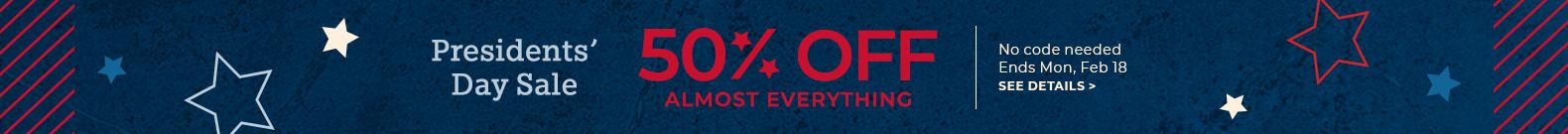 save 50%