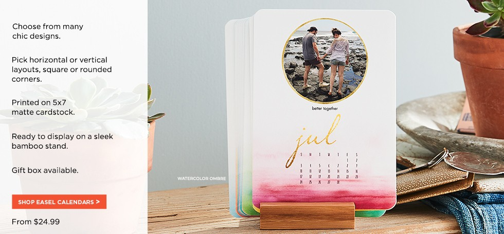 Christmas Gift Guide Layout.Custom Calendars For 2019 Personalized With Your Photos