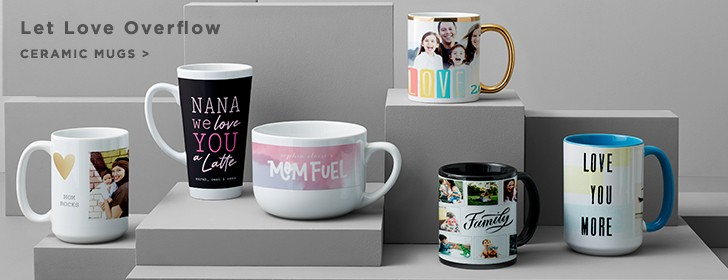 Ceramic Photo Mugs