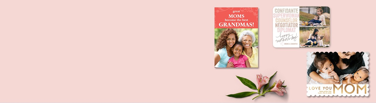 celebrate all moms. shop mother's day cards