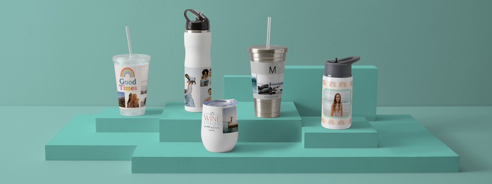 Personalized Drinkware for Summer